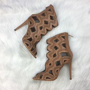 Zara caged heels